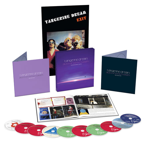 Tangerine Dream | Pilots Of Purple Twilight 10CD Box Set Limited Edition with Poster (D2C Exclusive)