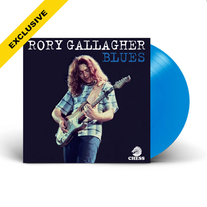 Rory Gallagher | Blues BLUE 2LP VINYL LIMITED EDITION