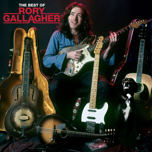 Rory Gallagher | The Best Of 2LP Transparent Vinyl (D2C Exclusive)