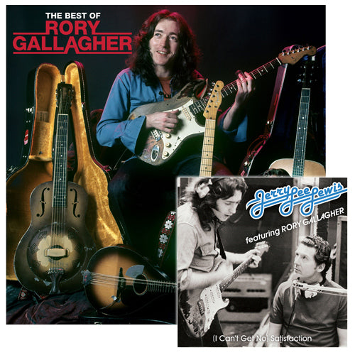 Rory Gallagher | The Best Of 2LP Coloured (Transparent Beige) Vinyl + (I Can't  Get No) Satisfaction 7