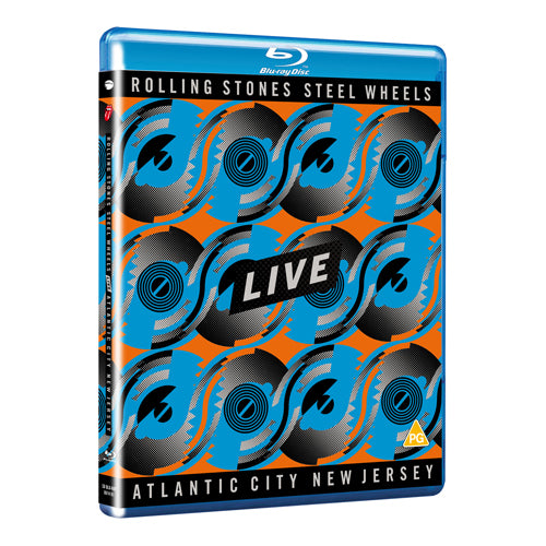 The Rolling Stones | Steel Wheels Live - Blu-ray
