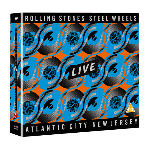 The Rolling Stones | Steel Wheels Live - Blu-ray + 2CD
