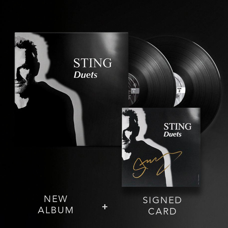 Sting | Duets (2LP including Signed Art Card)