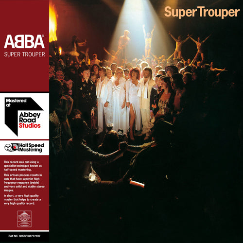 ABBA | SUPER TROUPER 2LP HALF SPEED MASTER