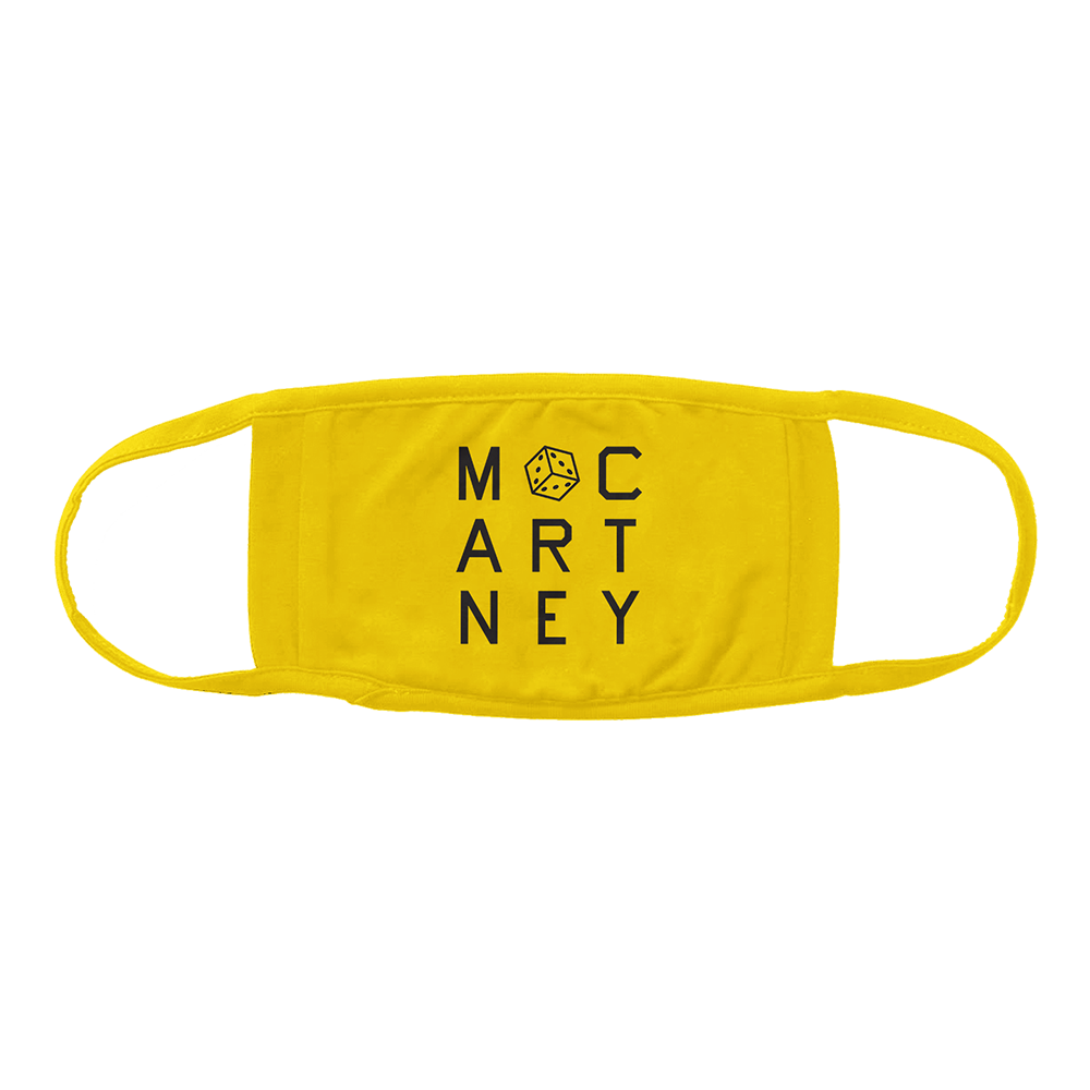 Paul McCartney | McCartney III Yellow Face Mask