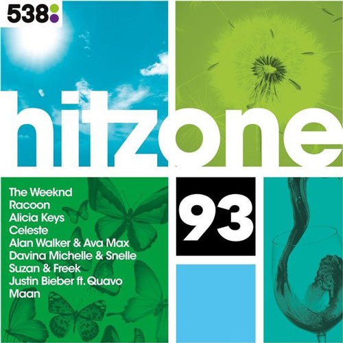 Hitzone | 93 CD (met GRATIS set buttons)