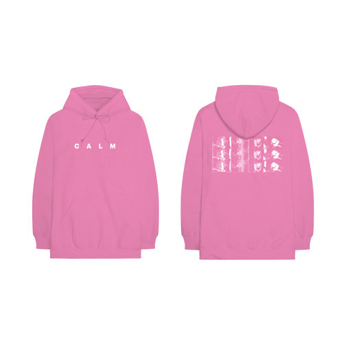 5 Seconds Of Summer | Calm Hooded Sweater Pink
