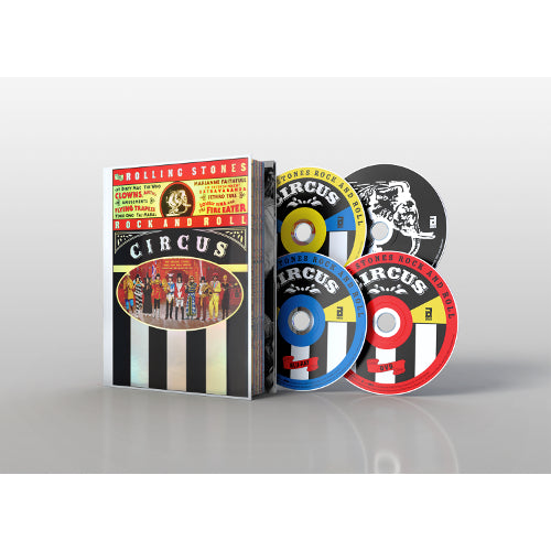 The Rolling Stones | Rock and Roll Circus DVD/BLU-RAY/2CD SPECIAL LIMITED DELUXE EDITION