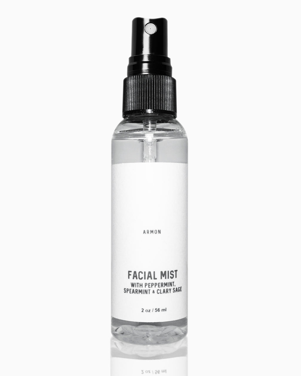 FACIAL MIST WITH PEPPERMINT, SPEARMINT & CLARY SAGE