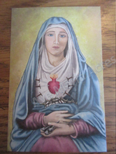 Load image into Gallery viewer, Our Lady of Sorrows Holy Cards (25 cards)