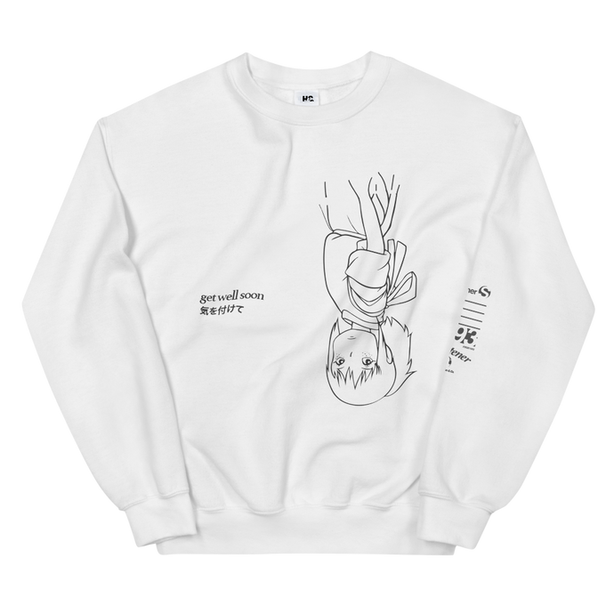 Get Well Soon Crewneck (White)