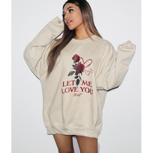 Load image into Gallery viewer, Rose Crewneck