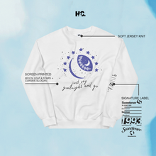 Load image into Gallery viewer, Moon & Stars Crewneck