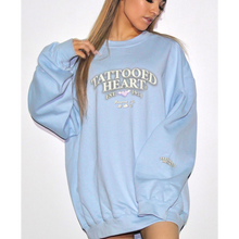 Load image into Gallery viewer, Heart Crewneck