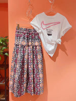 Ethnic Style Skirt (2 colours) (pre order)