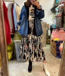 Denim Jacket with Fleece Jacket Set (pre order)
