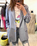 Linen Suit Jacket (3 colours) (pre order)