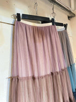 Multi Colours Mesh Coated Skirt (2 colours) (pre order)