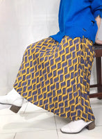 Wave Pattern Pleated Skirt (2 colours) (pre order)