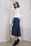 Wide Legs Trousers with Waist Band