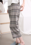 Scottish Checkered Ankle Length Pants
