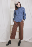 Solid Colour Straight Leg Pants (2 colours)