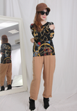 Printed Pattern Knit Top (2 colours)