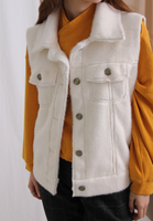 Faux Fur Vest (2 colours)