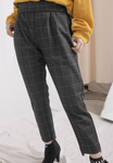 Checkers Straight Leg Trousers [restocking... coming soon]