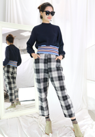 Mono Checkers Pants