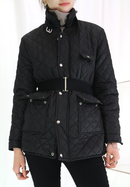 Checkers Quilted Jacket
