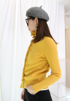 Knit Button Up Blouse / Cardigan