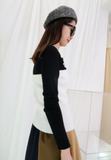 2-in-1 Knit Top