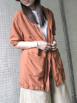 Ruched Sleeves Jacket (3 colours) (pre order)