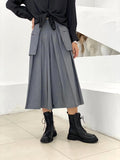 Side Pockets Corpped Culottes (2 colours) (pre order)