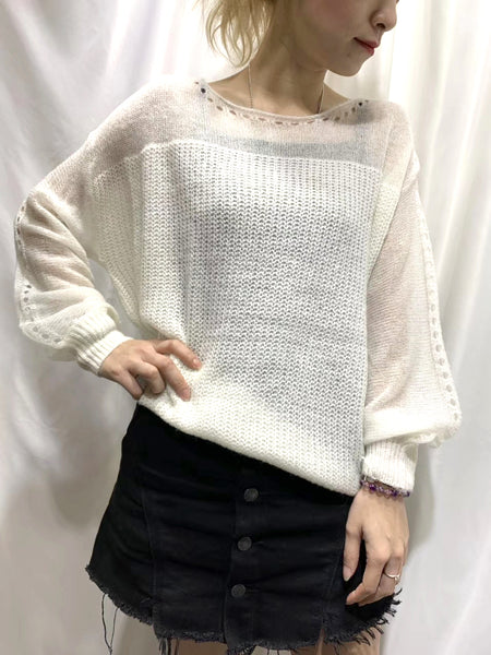 Oversize Knit Top (5 colours) (pre order)