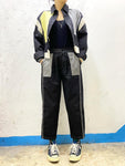 Patchwork Front Pockets Pants (pre order)
