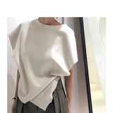 Side Button Knit Top (4 colours) (pre order)