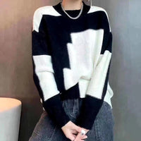 Multi Colours Knit Top (2 colours) (pre order)