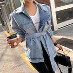 Denim Jacket with Belt (pre order)