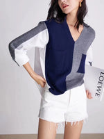 Mixed Fabric Multi Colours Top (2 colours) (pre order)
