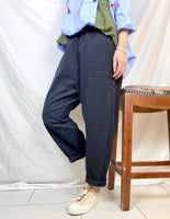Elastic Waist Loose Pants (2 colours) (pre order)