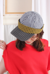 (Korean) Mixed Checkers Pattern Cap