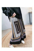 2-in-1 Vintage Style Pleated Dress (2 colours) (pre order)