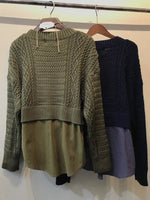 2-in-1 Knit Top (2 colours) (per order)