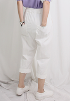 Cropped Culotte Pants