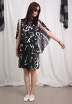 Cloak Button Dress