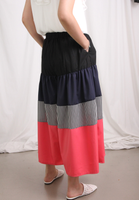 Colour Blocking Cropped Culotte