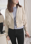 Narrow Hem Short Jacket