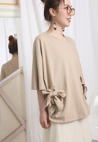 Zacro Smock Top With Contrast Peplum Hem